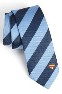 DC Comics | Superman Stripe Tie | Jordans, Thoughts and Note