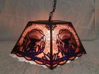Dr pepper, Hanging lamps and Stained glass on Pinterest