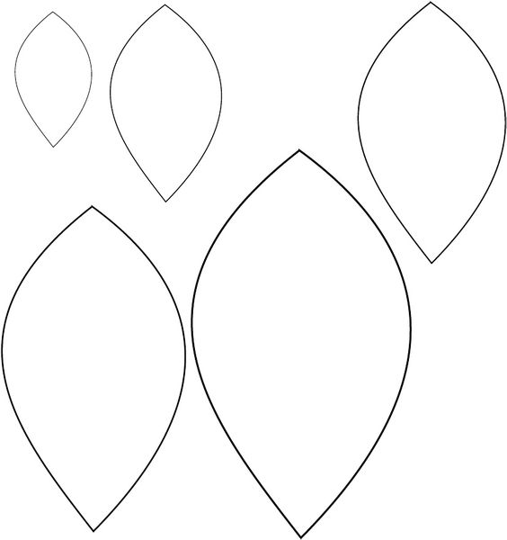 Best ideas about Paper Leaf Template, Flower Templates