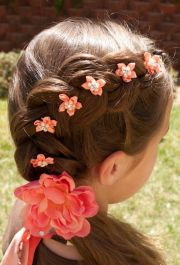 dutch flower braid. perfect
