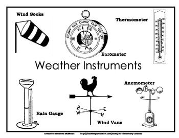 Weather Unit Freebie: Station Experiment for Making an
