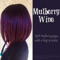 Mulberry wine hair color | Hair | Pinterest | My hair ...
