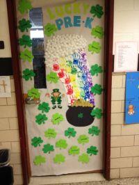 Classroom Door Decoration for St. Patricks Day | Teaching ...