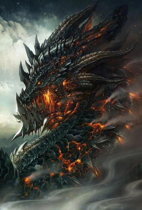 Cool Dragon Art  Grey, Black Dragon And Shadowrun
