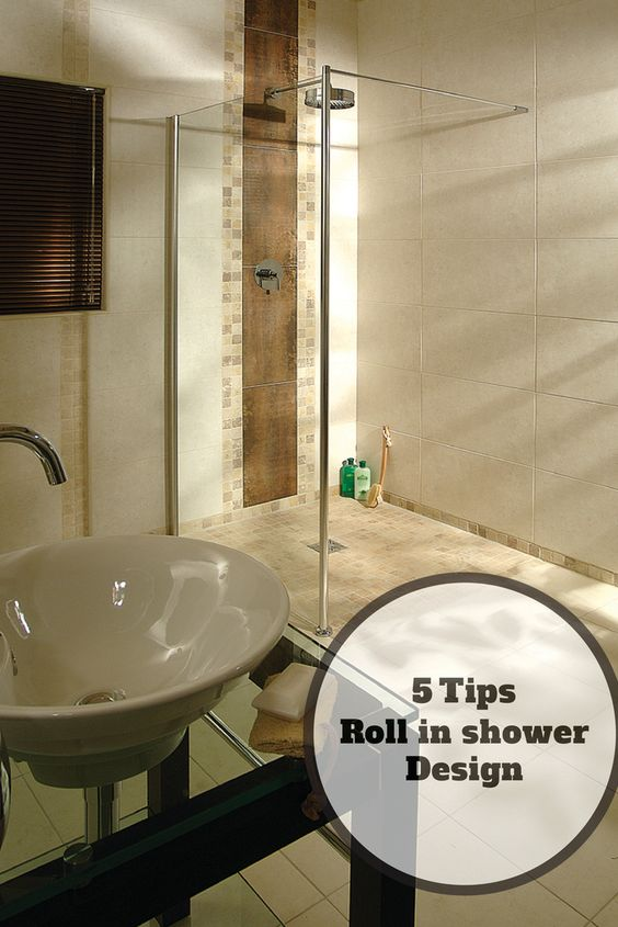 5 Design Tips for a Roll in Shower for an Elderly Parent