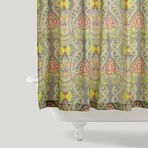 Floribunda Shower Curtain World Market · Venice Shower Curtain Pinterest  Grå Unge Och Världsmarknaden - World Market Shower Curtains