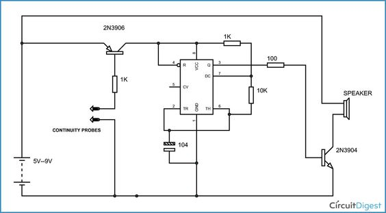Circuit diagram and Electronic circuit on Pinterest