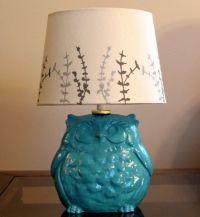 CUSTOM order for Natasha: Light Pink Ceramic Owl Lamp WITH ...