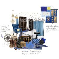 """""""ravenclaw dorm room"""" by queenaengland on Polyvore ..."""