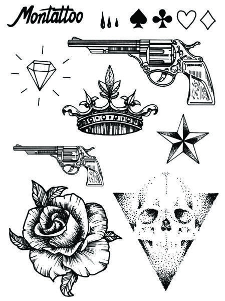 Guns, Skulls and Tattoo set on Pinterest