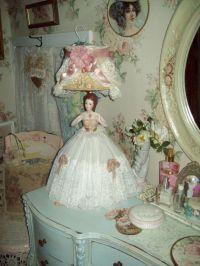 half doll lamp boudoir lamp
