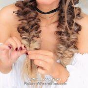 lazy fuax fishtail boxer braid