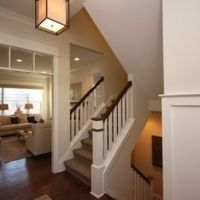 Craftsman Split Level Staircase Staircase Design Ideas ...