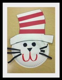 Dr. seuss, Paper plates and Hats on Pinterest