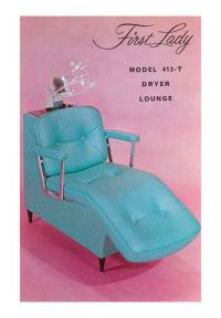 Lounge Chair for Hair Dryer | On the side, Pink walls and ...