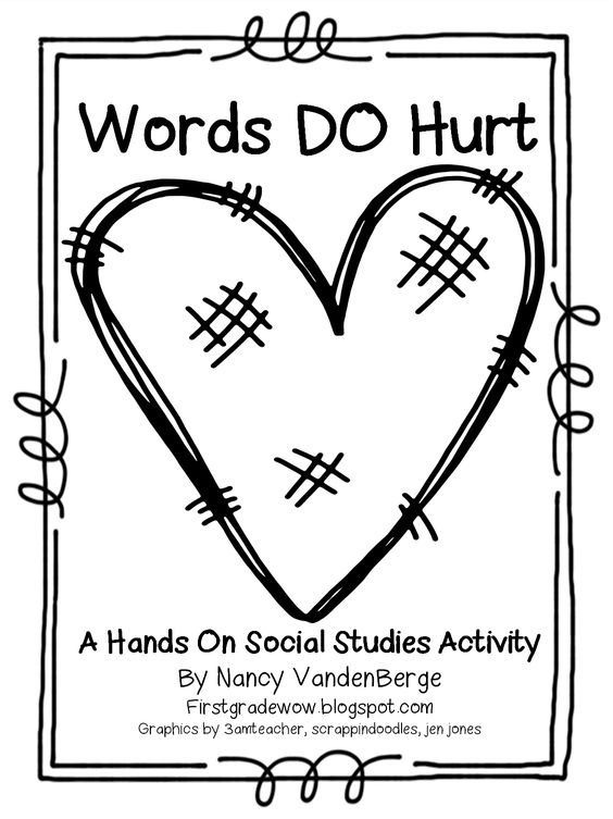 Wrinkled heart, First grade and Kind words on Pinterest