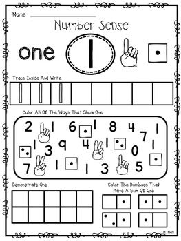 Number Sense Know How! {Number Sense Practice For Numerals