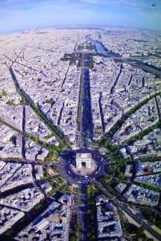 roundabout Paris