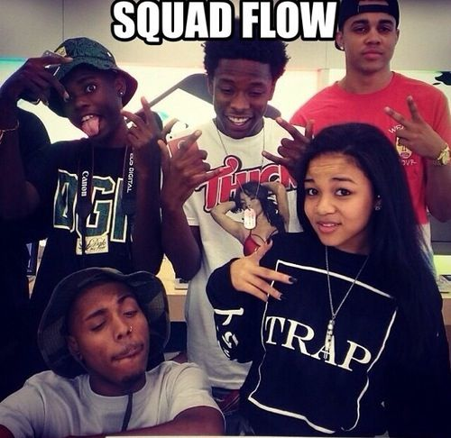 Image result for black girl with male friends