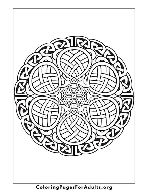 7 FREE Coloring Pages for Adults