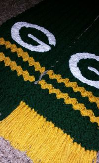 Bays, Green bay packers and Scarfs on Pinterest