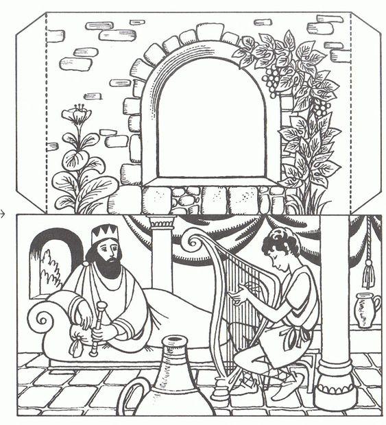 Harp, King david and David on Pinterest