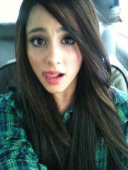 ariana grande green eyes