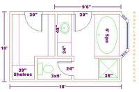 Master+Bath+Floor+Plans+with+Dimensions | ... Bathroom ...