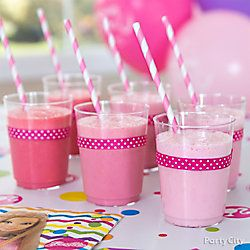Barbie Pretty-In-Pink Drink Idea: