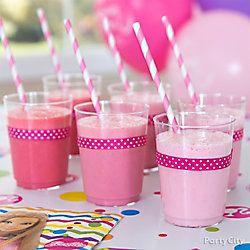 Barbie Pretty-In-Pink Drink Idea: