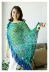Knifty Knitter Shawl, Poncho, Shrug and Wrap Patterns ...