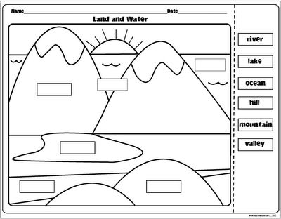 Erosion Coloring Sheet Coloring Pages