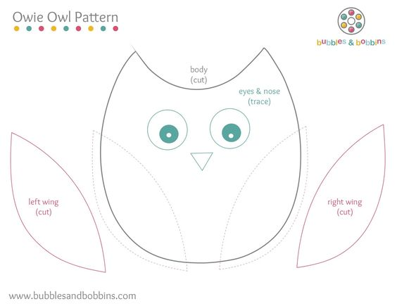 Felt owl pattern, Pattern print and Patterns on Pinterest