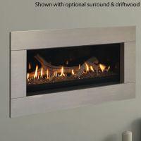 "Echelon Direct Vent Fireplace - 60"" | WoodlandDirect.com ..."