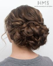 wedding updo and wigs