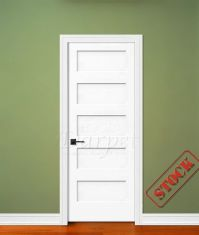 """5 Panel Flat Shaker Style Primed 6'-8"""" (80"""")   Darpet ..."""