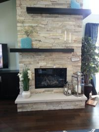 Stains, Fireplaces and Wraps on Pinterest