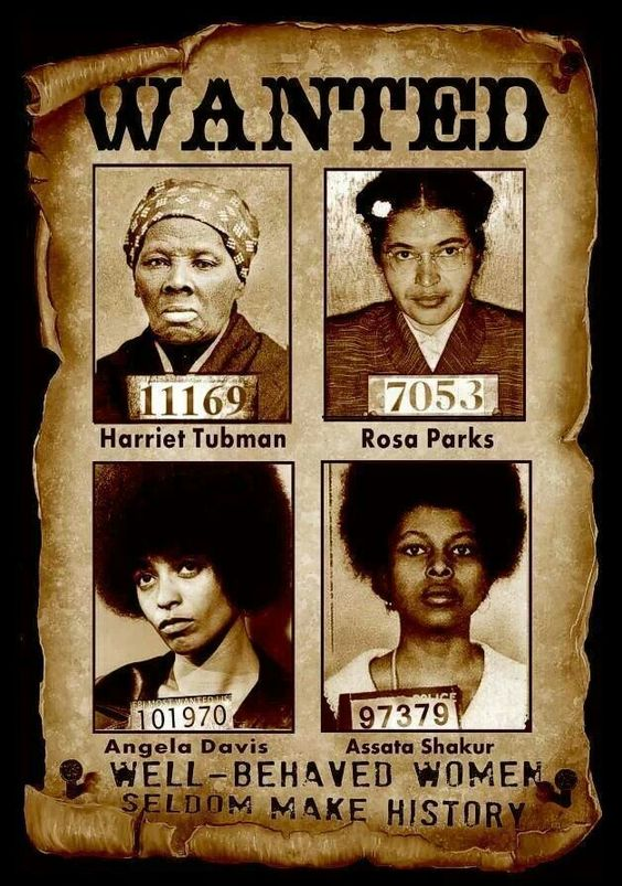 WANTED Revolutionary Black Women Activist Harriet Tubman