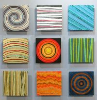 Calendar III - ceramic tile wall art installation by ...