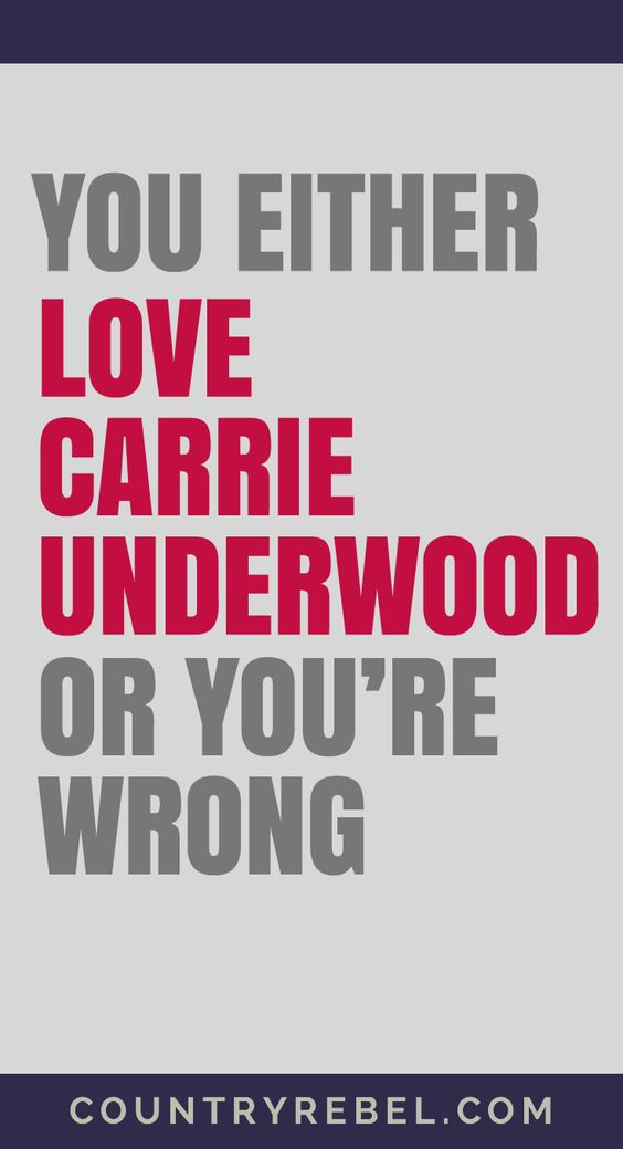 Carrie Underwood - You Either Love Him or You're Wrong | Carrie Underwood Youtube Country Music Videos at http://countryrebel.com/blogs/videos/tagged/carrie-underwood: