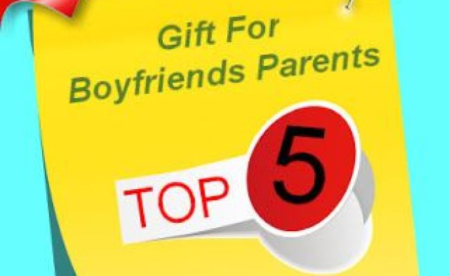 My List Of The 5 Best Suggested Gifts For Boyfriends
