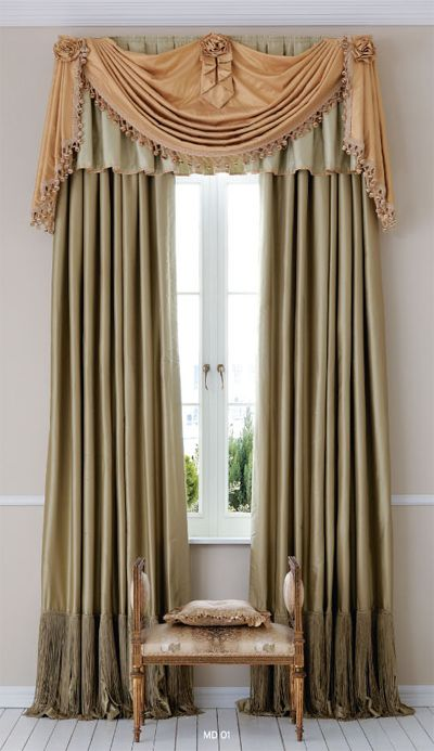Window treatments, Window and Valances on Pinterest