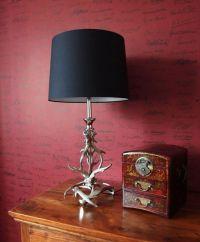 Stag Antler Metal Table Lamp | Living rooms | Pinterest ...
