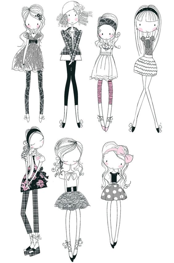 All about surface pattern ,textiles and graphics: Girly