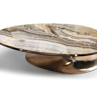 ONYX ELLIPTICAL COCKTAIL TABLE - ONYX ELLIPTICAL TABLE ...