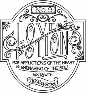 Love Potion Apothecary Label design (UTH3333) from