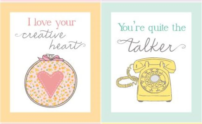 Free Printable Valentine S Day Cards And Gift Tags