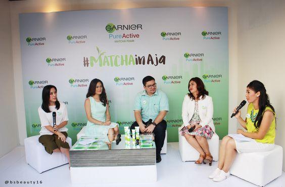 Garnier Matcha Series Launching