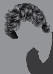 render short detailed hair