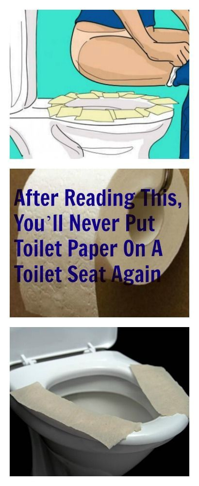 You Need To Stop Putting Toilet Paper Down On Public Toilet Seats Immediately! Read here why!: